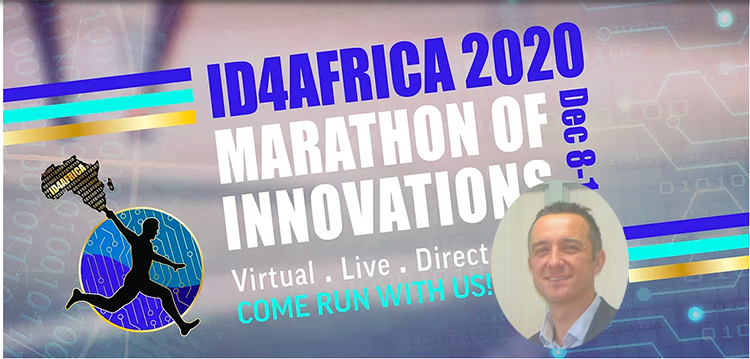 Marc Piepers, Coppernic's Deputy Managing Director takes the stock of the virtual meeting ID4AFRICA